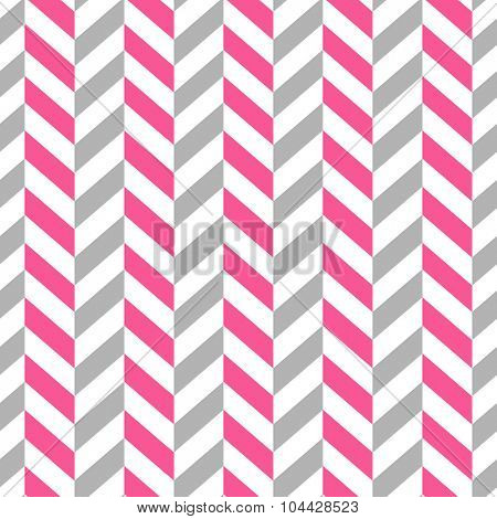 Seamless Simple Geometric Pattern. Pink and Gray colors