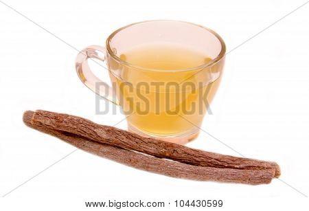 Herbal tea licorice