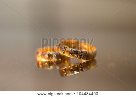 Wedding Rings In Gold And Diamonds