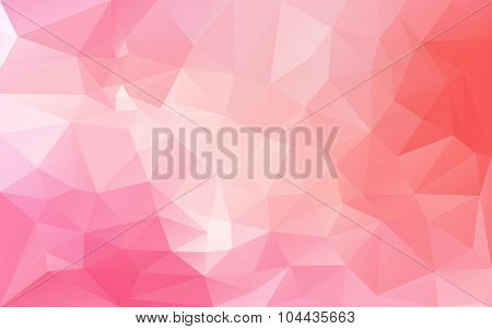 Abstract Background In Pink Tones