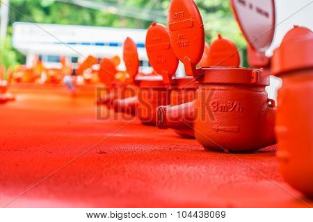 Spraying Water Meter