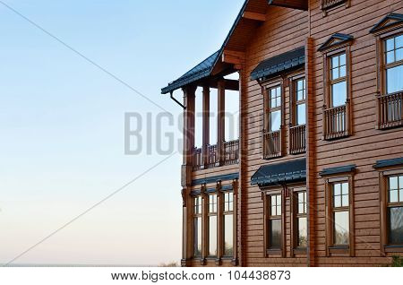 House With Log
