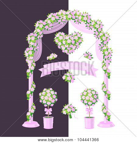 Pink Floral Decoration