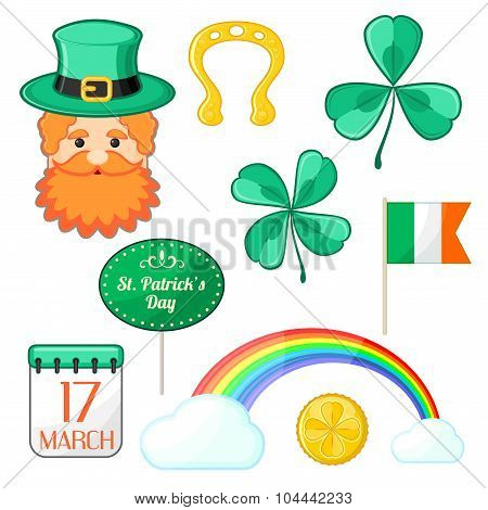 Symbols Of Saint Patrick's Day