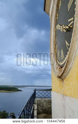 View From The Belfry, Nilo-stolobensky Monastery, Lake Seliger