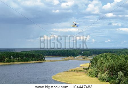 Lake Seliger From Height