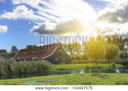 Dutch farm.