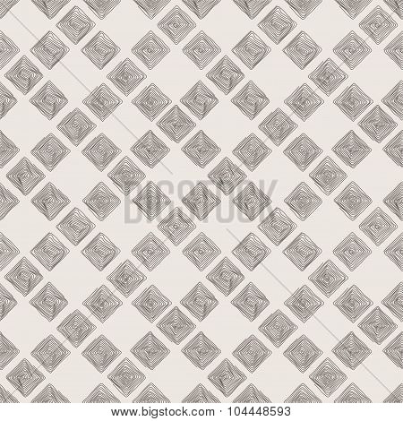 Seamless pattern of the curve scrolling lines