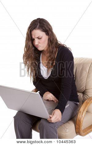 Frustration Laptop