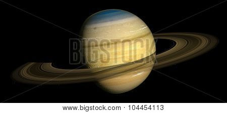 Saturn Elements of this image furnished by NASA