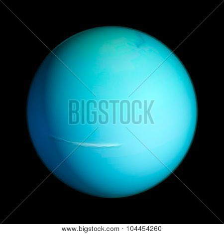 Uranus Elements of this image furnished by NASA