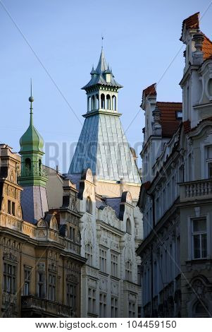 Roofs, Domes And Spires In Old Town