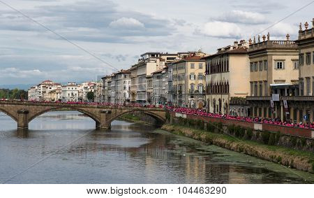 Marathon In Florence Against Breast Cancer