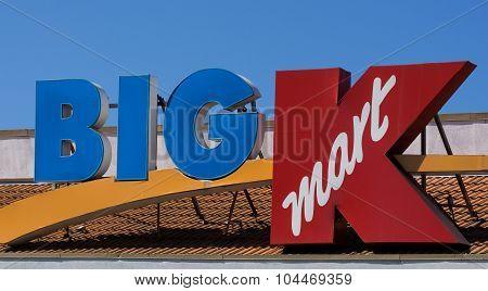 Big Kmart Retail Store Exterior