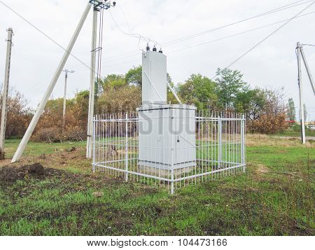 Electric Substation, Transformer
