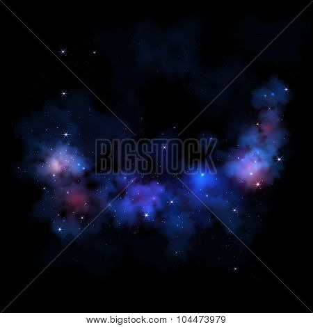 Sky  galaxy stars nebula