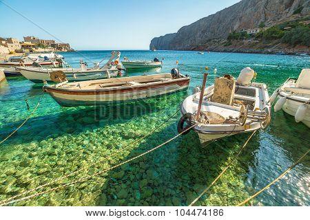 Fishing boats Gerolimenas