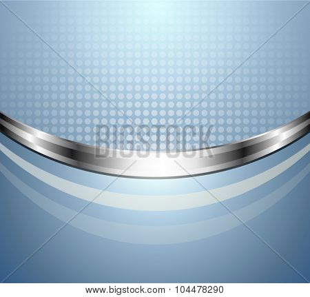Business background light blue, elegant vector illustration.