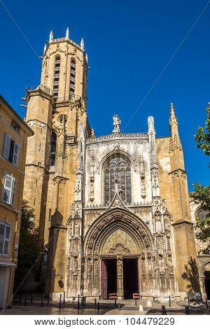Cathedral Of Holy Saviour In Aix-en-provence