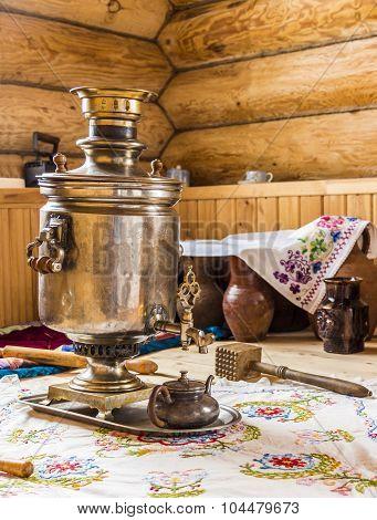 Samovar In The Kitchen