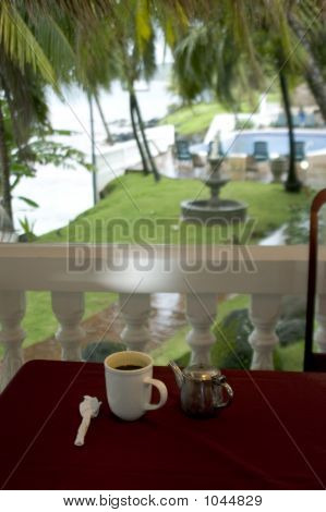 Coffe At The Resort