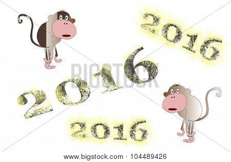 symbol 2016 - monkey