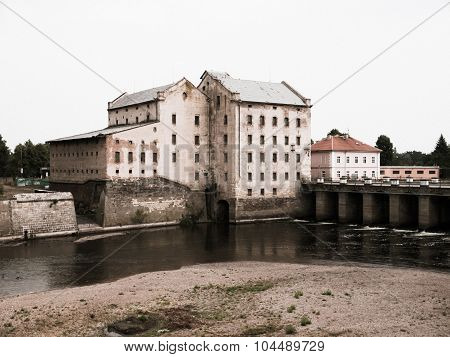 Old mill in Terezin