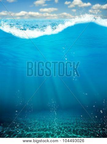 Deep blue abyss