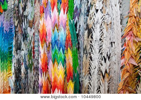 Paper Origami Cranes