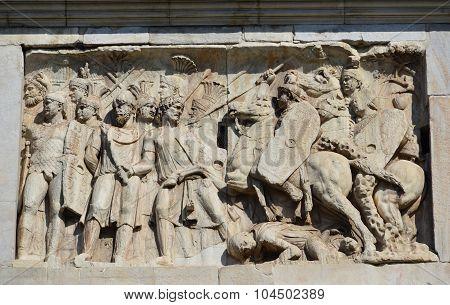 Roman Army Vs Barbarian