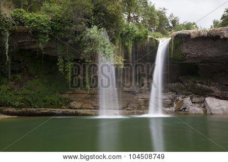 Waterfall Of Orbaneja Del Castillo, Burgos, Spain