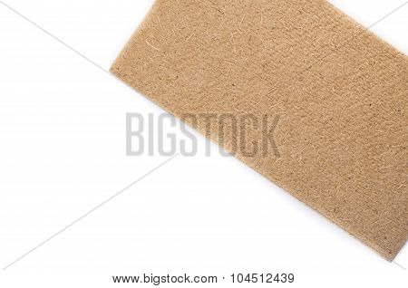 Compressed Thermal Insulating Hemp Fiber Panel