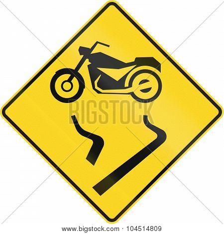 Slip Danger For Motorcycles In Canada