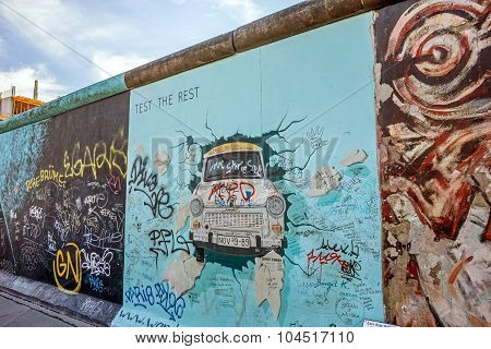 Berlin Wall - East Side Gallery, Berlin
