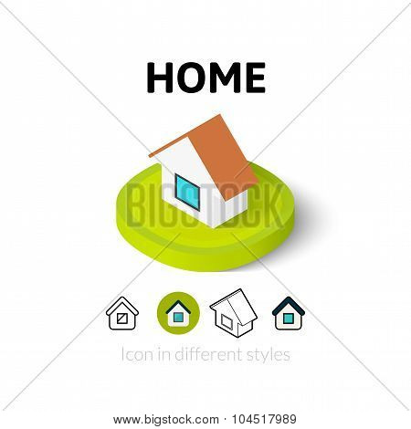Home icon in different style