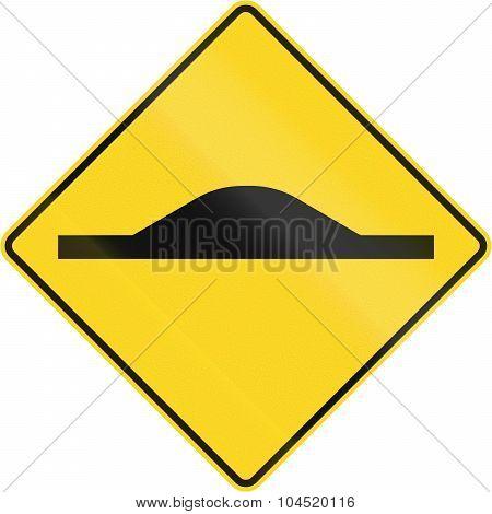 Road Bump In Canada
