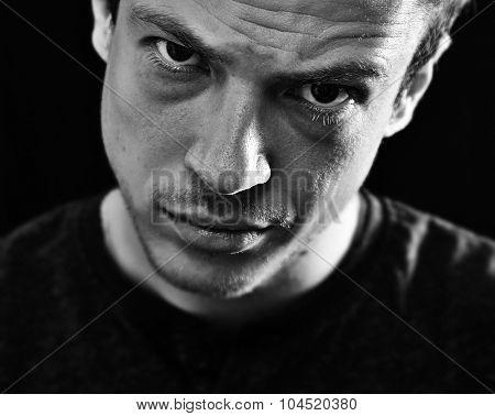brutal man portrait