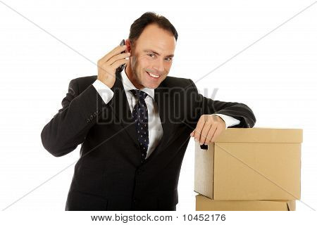 Attractive Caucasian Businessman