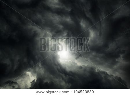 Storm Cloud Background