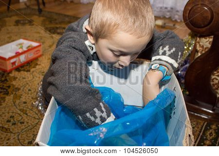 hands Boy in the Box