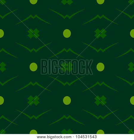 Green vintage seamless background
