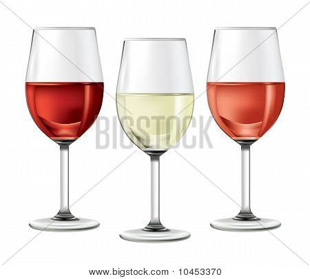 Three-glasses-of-wine