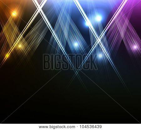 party spotlights easy all editable
