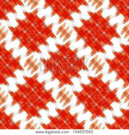 Orange strokes