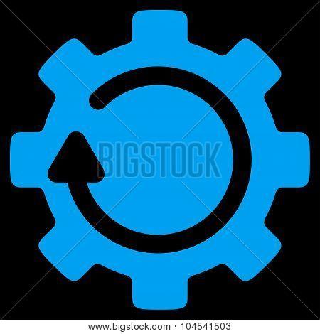 Gear Rotation Icon