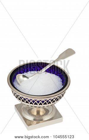 Beautiful glass salt dish