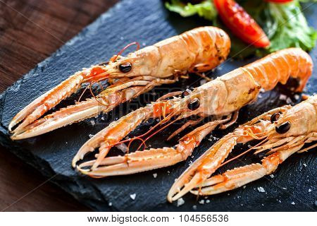 Multiple Spiny Lobsters .