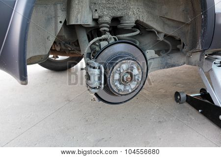 Braking System Of The Car