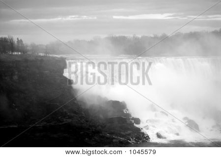 Mists At Niagara