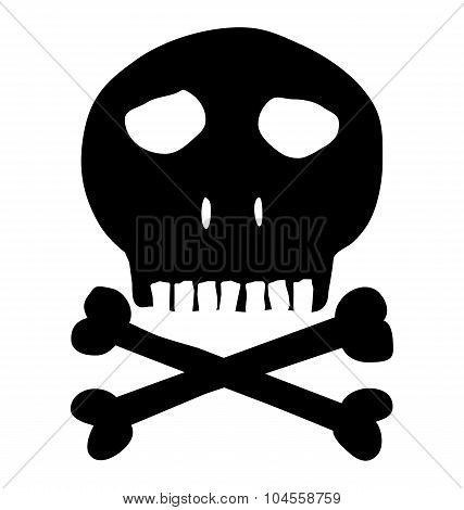 Skull And Crossbones, Mark Of The Danger Warning